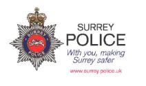 Surrey Police crime bulletin for Surrey Heath: April 2017: 5th Update